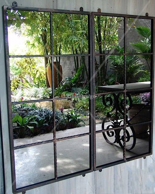 Innovative Outdoor Garden Wall Mirrors Outdoor Mirrors Pinteres In Garden Wall Mirrors (#13 of 20)