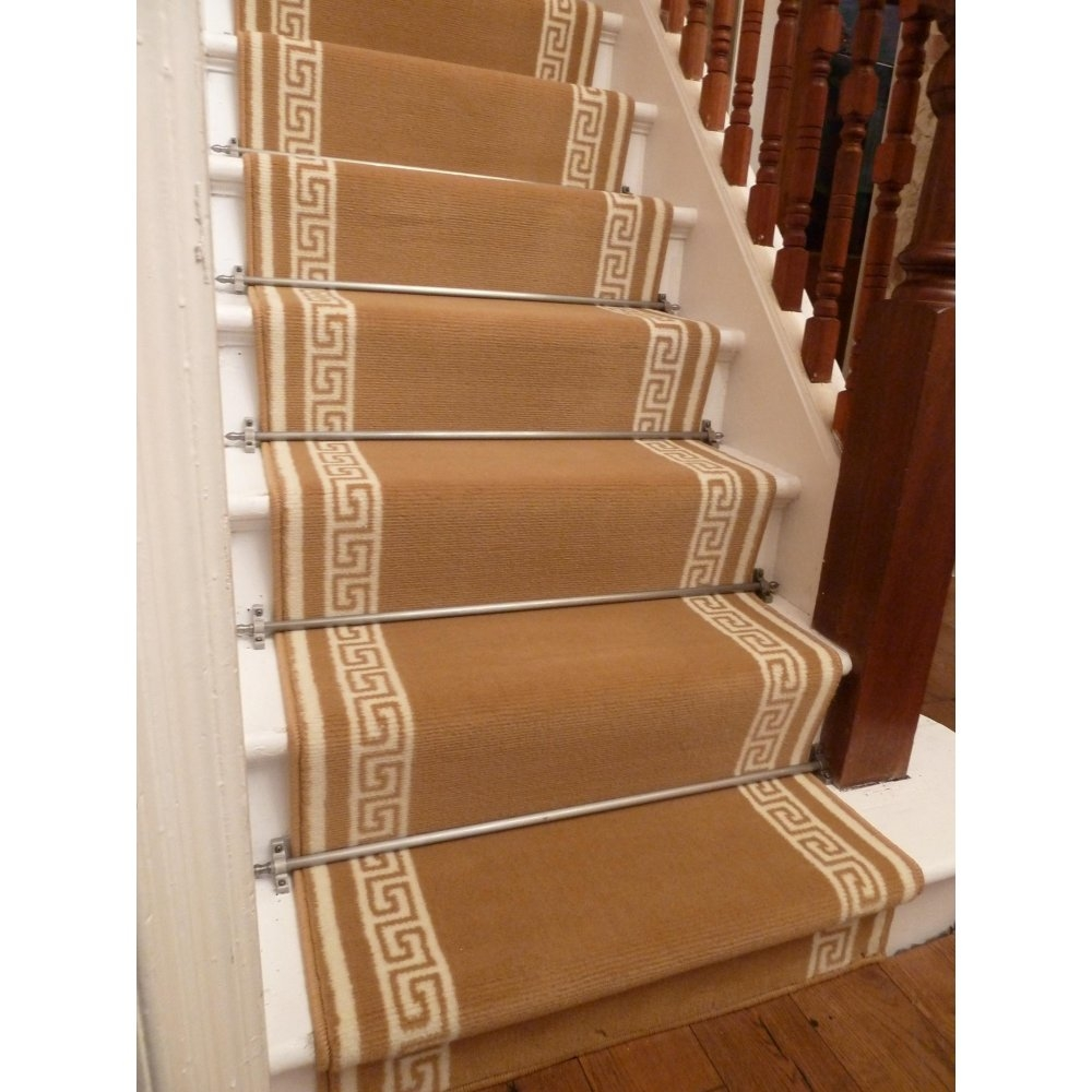 Installing A Carpet Runner For Stairs Stair Design Ideas Regarding Stair Tread Rug Holders (View 8 of 20)