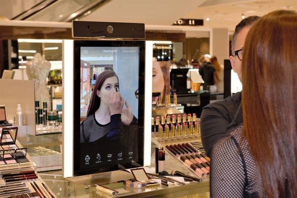 """Interactive """"Magic Mirrors"""" Are Changing How We See Ourselves—And Pertaining To Shopping Mirrors (#13 of 30)"""