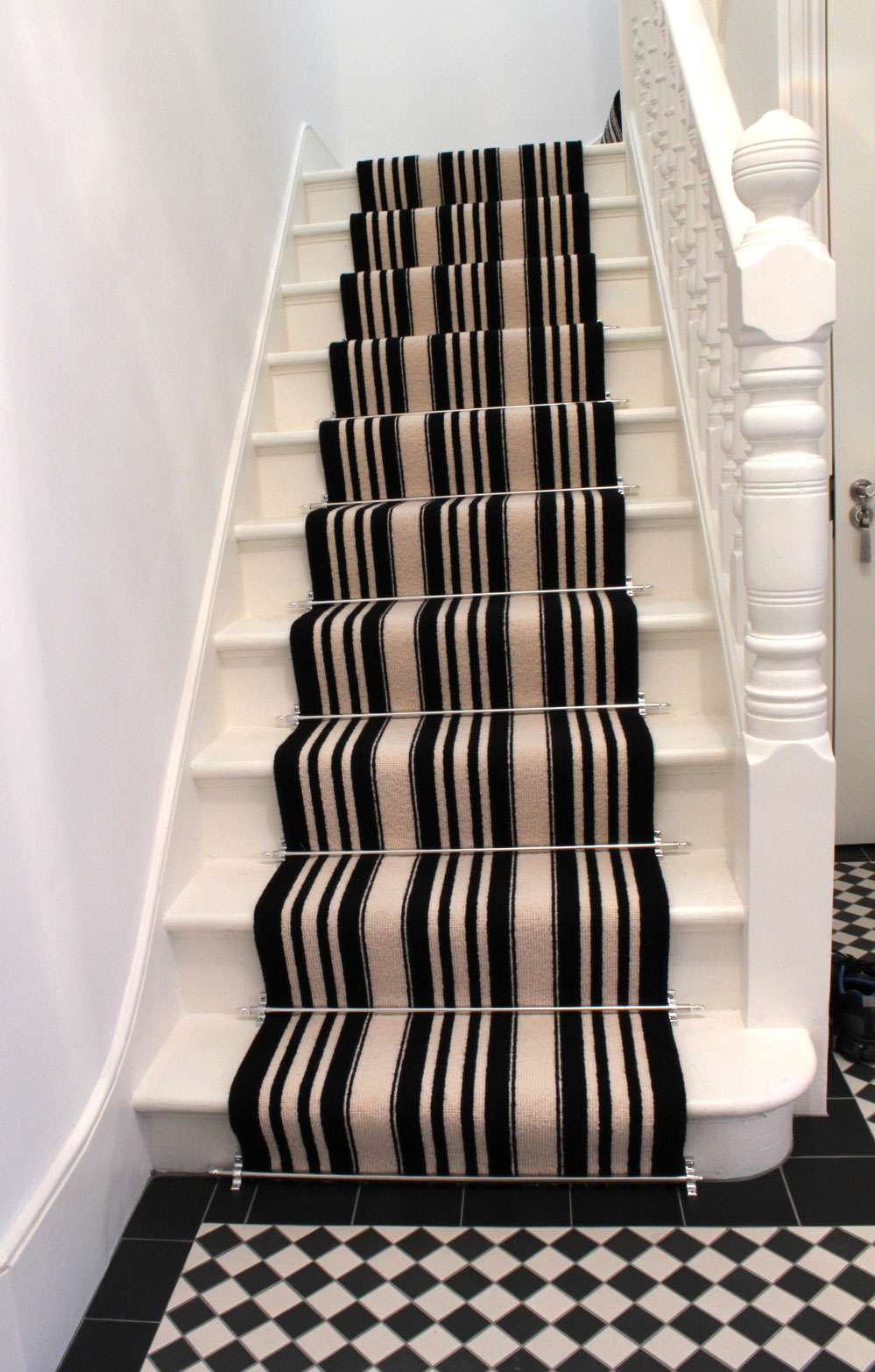 Interactive Rubber Stair Tread Mats Decoration For Your Home Throughout Stair Tread Carpet Bars (#16 of 20)