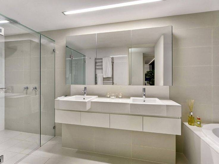 Inspiration about Interesting Idea Large Mirrors For Bathrooms – Bathroom Mirror For Frameless Large Mirrors (#13 of 20)