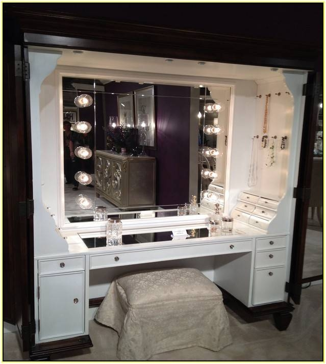 Interesting Table Mirror With Lights Makeup Vanity Winners Malm I In Illuminated Dressing Table Mirrors (#13 of 20)