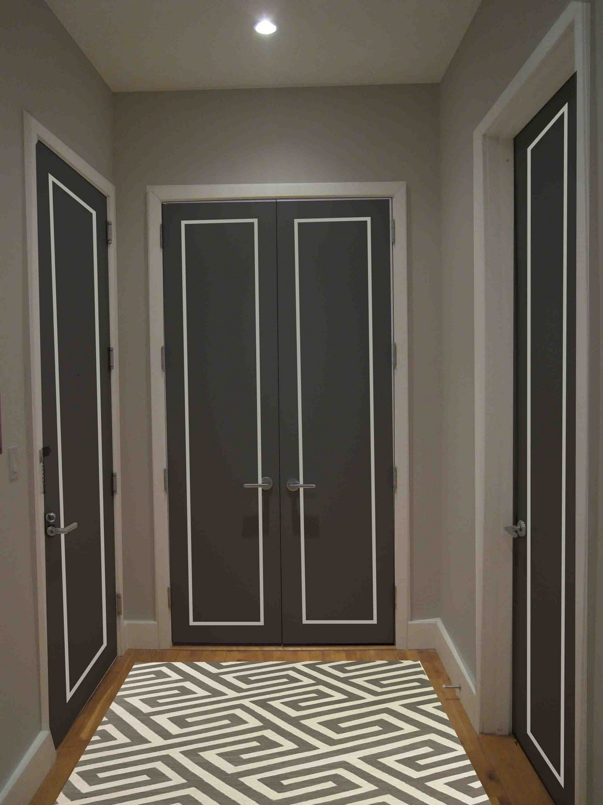 Interior Contemporary Gray Hallway Runner Fur Rugs With Floor With Regard To Runners For Hallways Contemporary (#15 of 20)