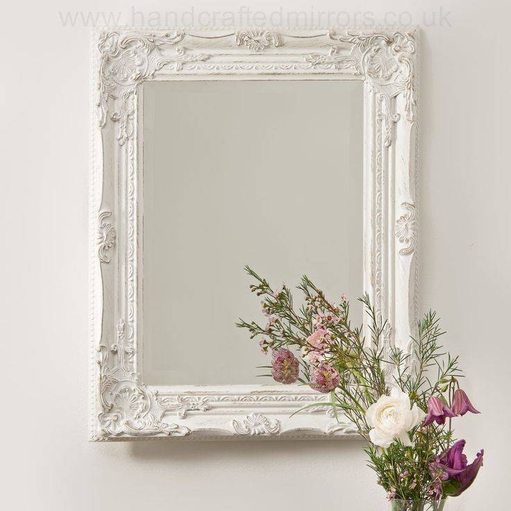 Interior & Decoration: Decorating Antique Ornate Mirrors For Your With Regard To Vintage White Mirrors (View 7 of 20)