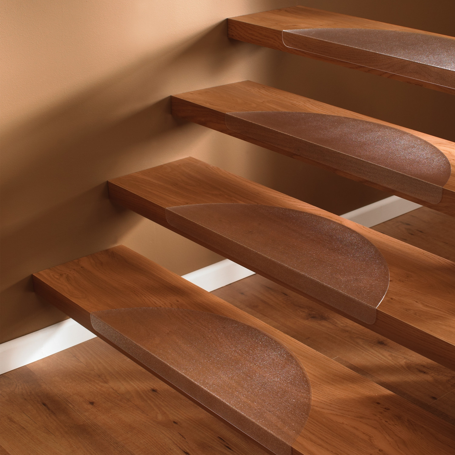 Interior Wood Stairs With Non Slip Stair Treads Throughout Stair Treads For Wooden Stairs (#12 of 20)