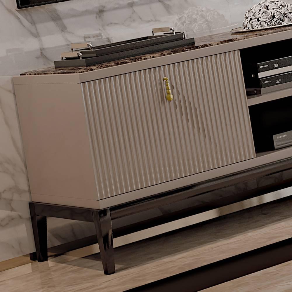 Italian Designer Art Deco Inspired Tv Media Sideboard | Juliettes With Regard To Sideboard Tv (#9 of 20)