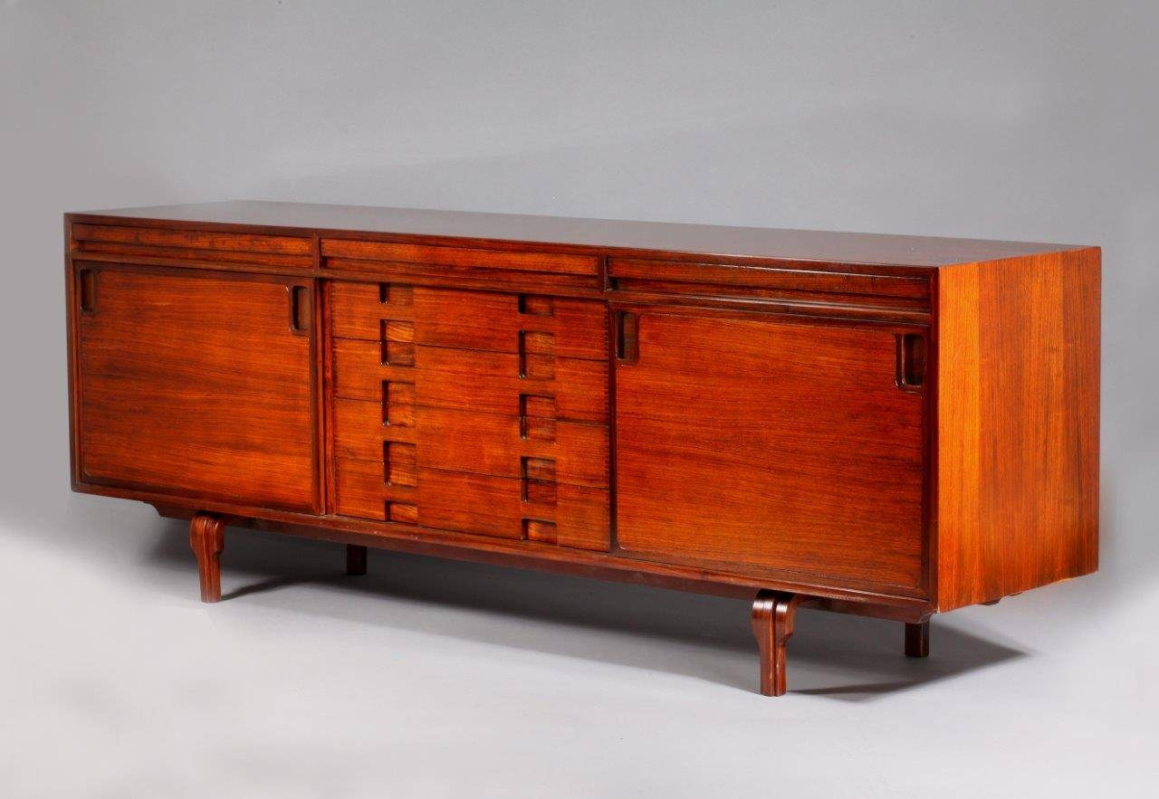 Italian Rosewood Sideboardluigi Massoni For Sale At Pamono Regarding Unusual Sideboards (#6 of 20)