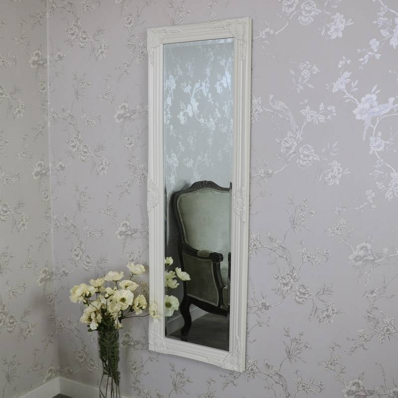 Ivory Ornate Mirror – Melody Maison® Regarding Ivory Ornate Mirrors (#12 of 20)