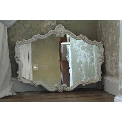 Popular Photo of Ivory Ornate Mirrors