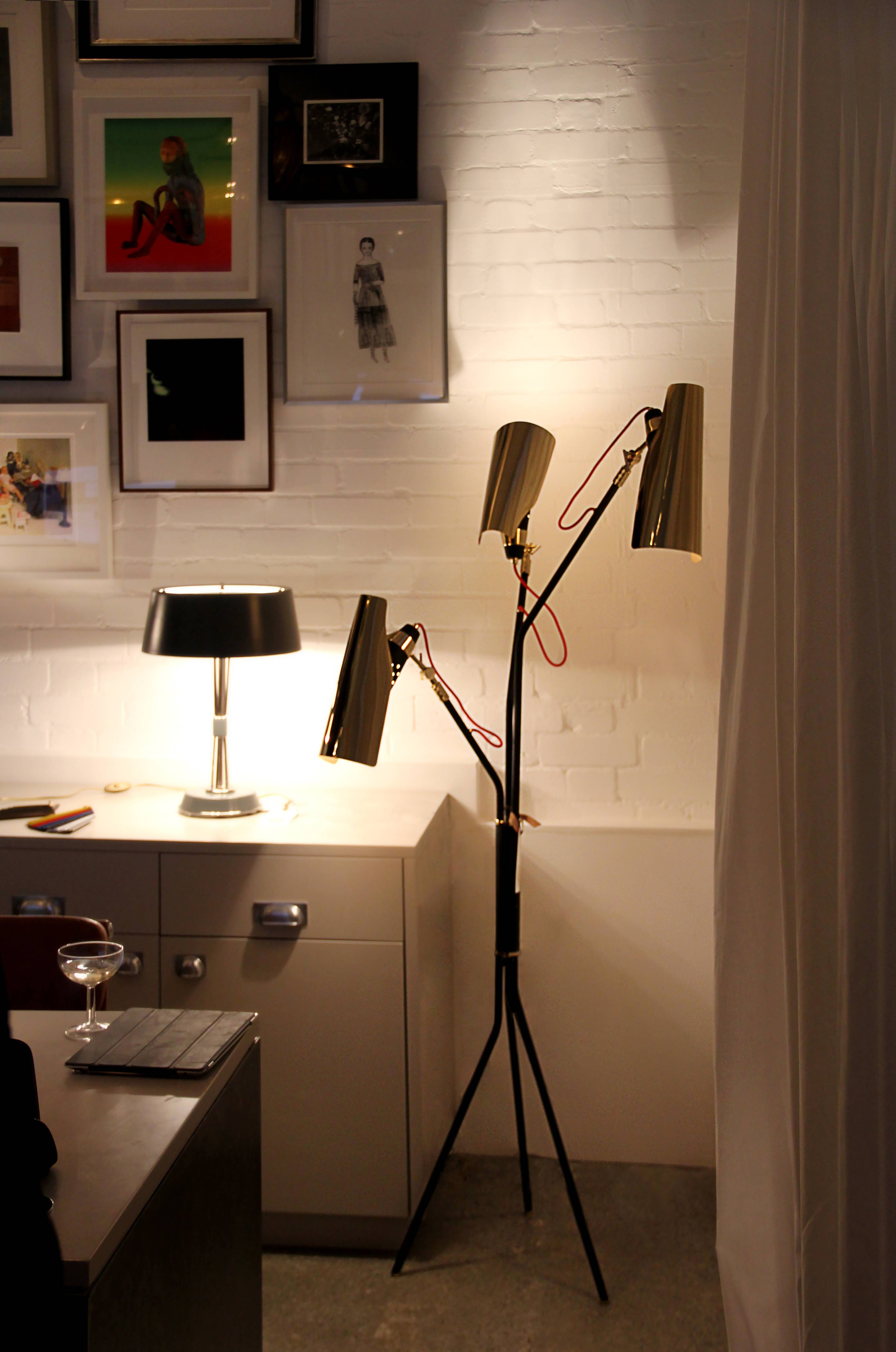 Jackson Mid Century Floor Lamp | Delightfull Pertaining To Sideboard Lamps (View 10 of 20)