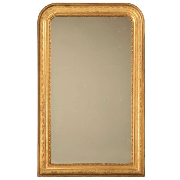 """Jaw Dropping 55 X 34"""" Original Antique French Louis Philippe Gilt With Regard To Antique Gilt Mirrors (View 19 of 20)"""