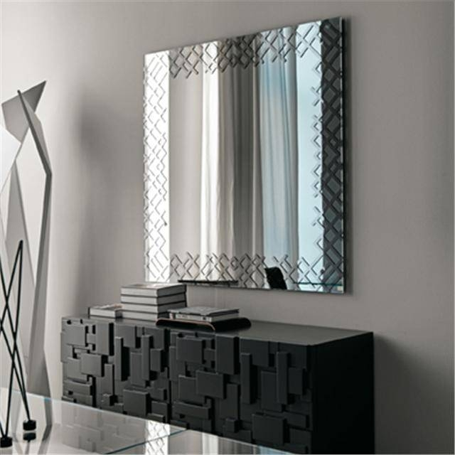 Jersey Modern Italian Mirror Inside Modern Contemporary Mirrors (#15 of 30)