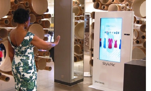 John Lewis' Virtual Fashion Mirrors Bring A New Shopping For Shopping Mirrors (#14 of 30)