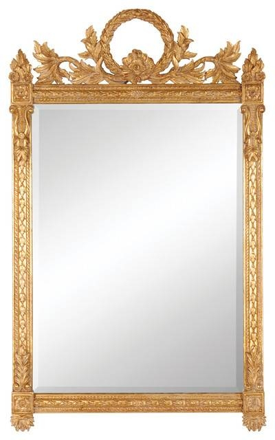 Jonathan Charles Empire Style Gilded Mirror 493060 – Victorian With Gilded Mirrors (#13 of 20)