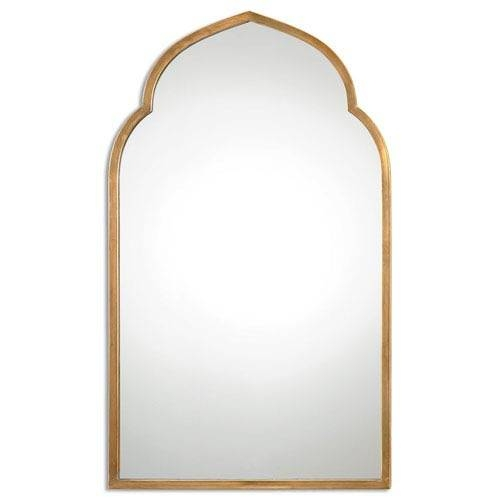Popular Photo of Gold Arch Mirrors