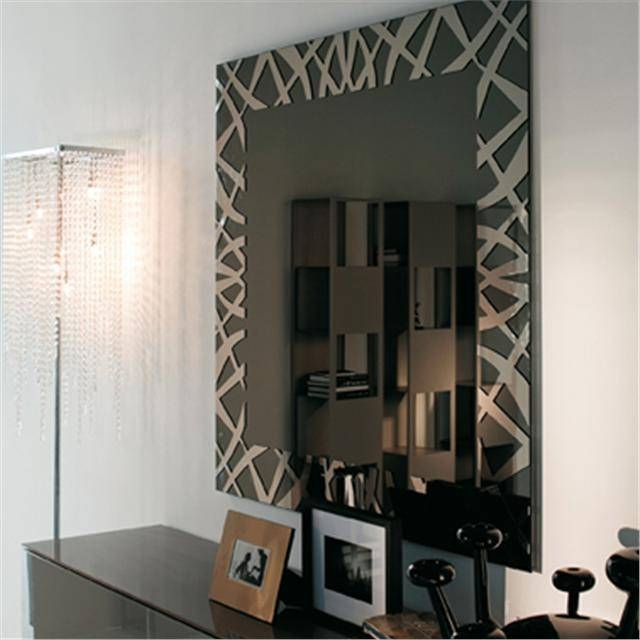 Kenya Modern Italian Mirror Pertaining To Large Contemporary Mirrors (#14 of 30)