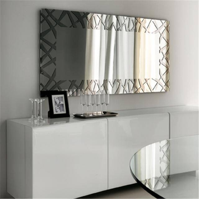 Kenya Modern Italian Mirror With Regard To Large Contemporary Mirrors (#15 of 30)