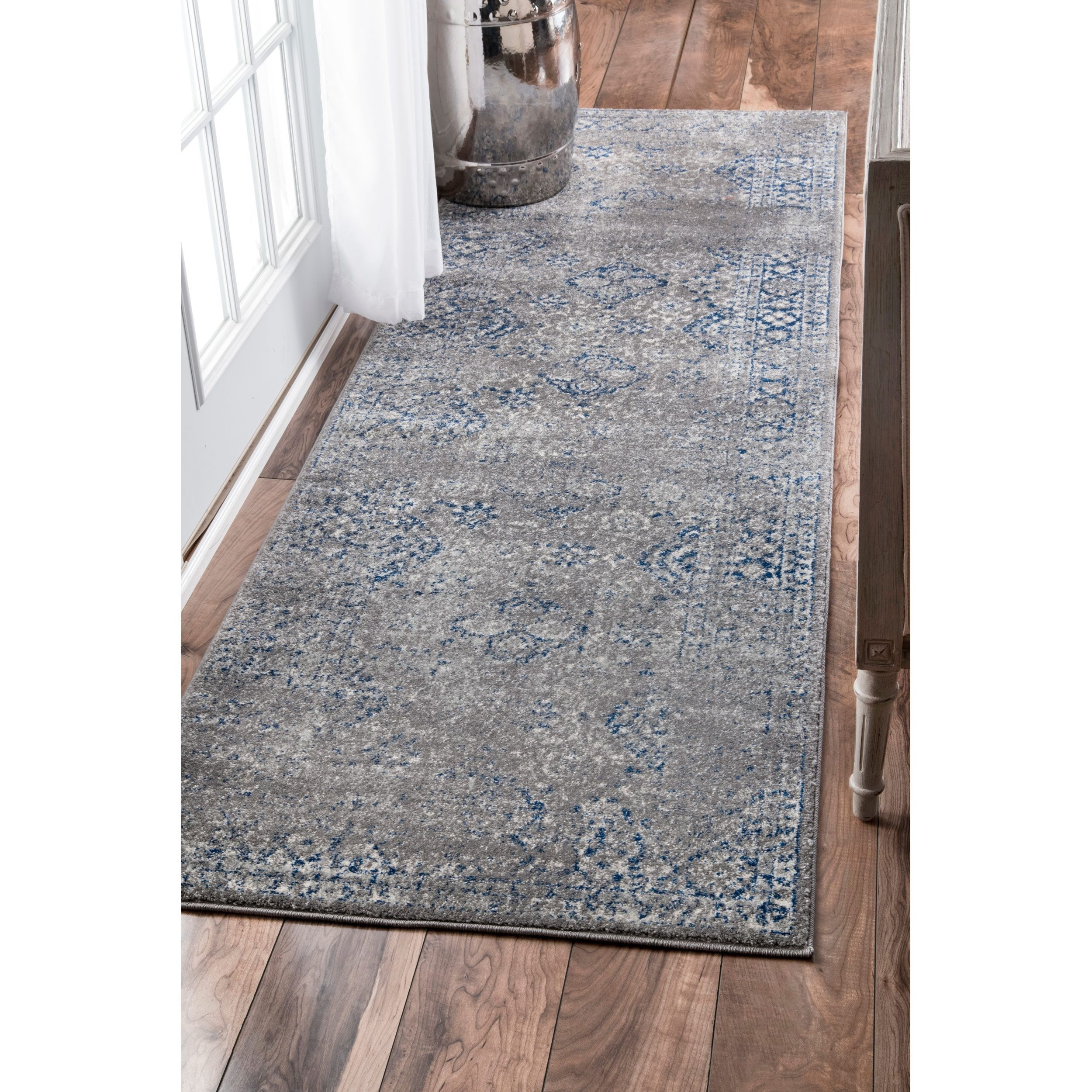 Blue Kitchen Rug: 20 Inspirations Of Blue Rug Runners For Hallways