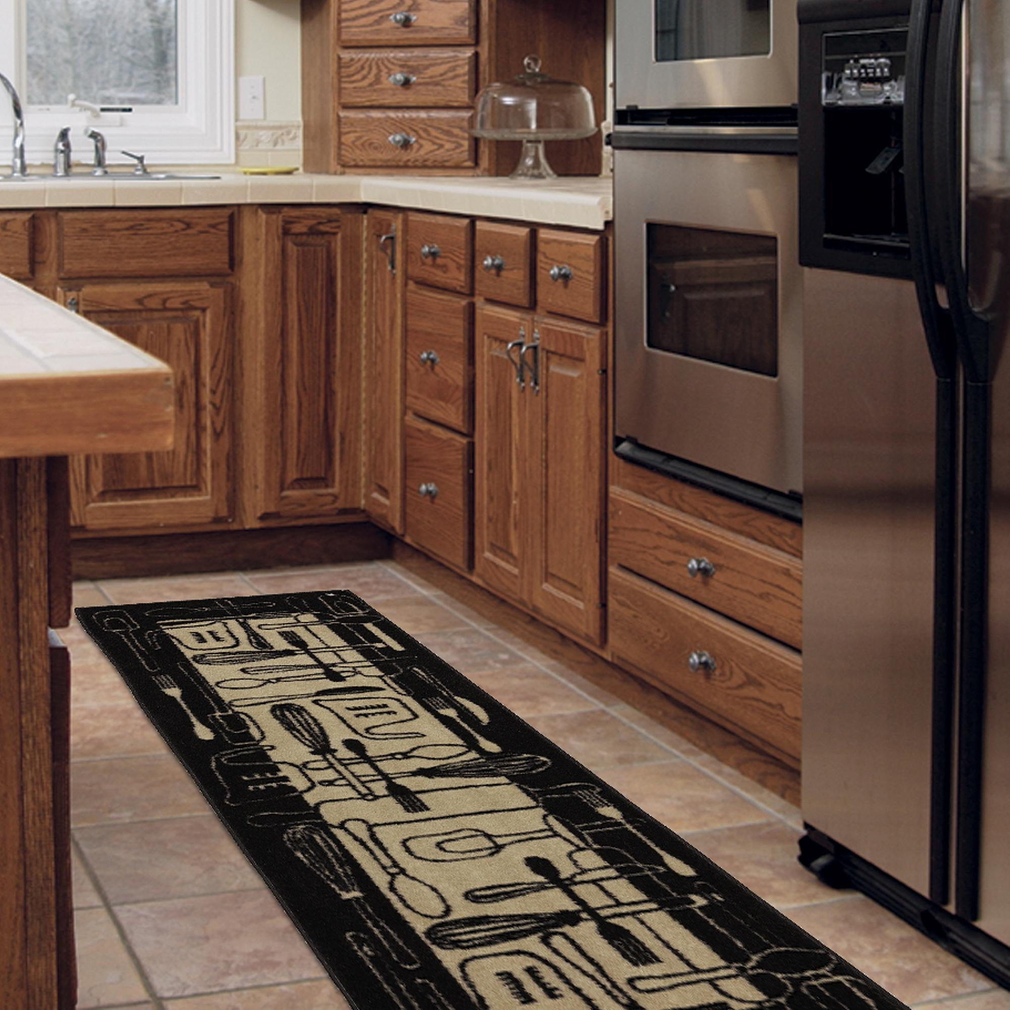 Kitchen Rug Runners Cievi Home Intended For Rug Runners For Kitchen (#14 of 20)