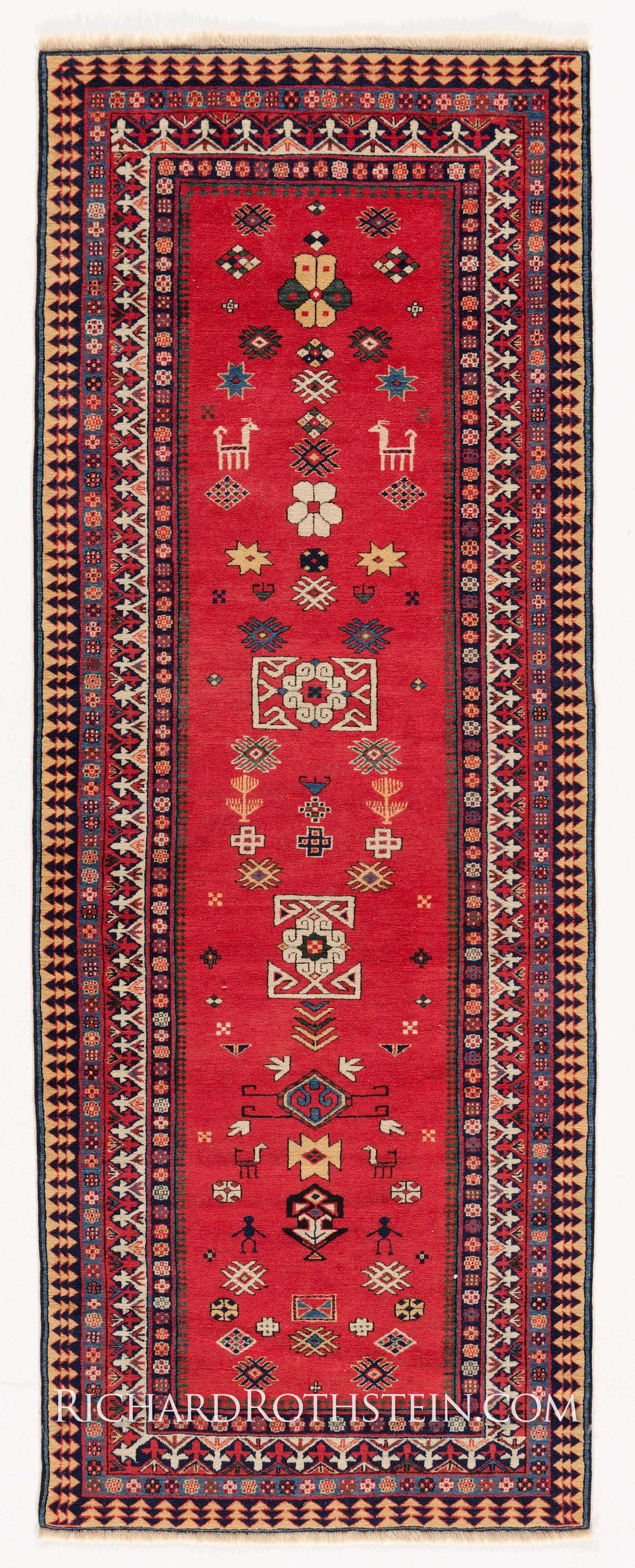 Red Foyer Rug : Best collection of red runner rugs for hallway