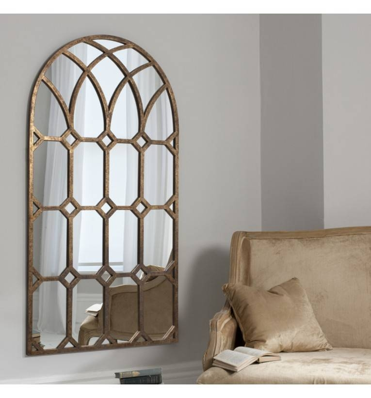 Krista Window Mirror 150 X 80 Cm Krista Window Mirror   Exclusive Inside Arched Window Mirrors (View 20 of 20)