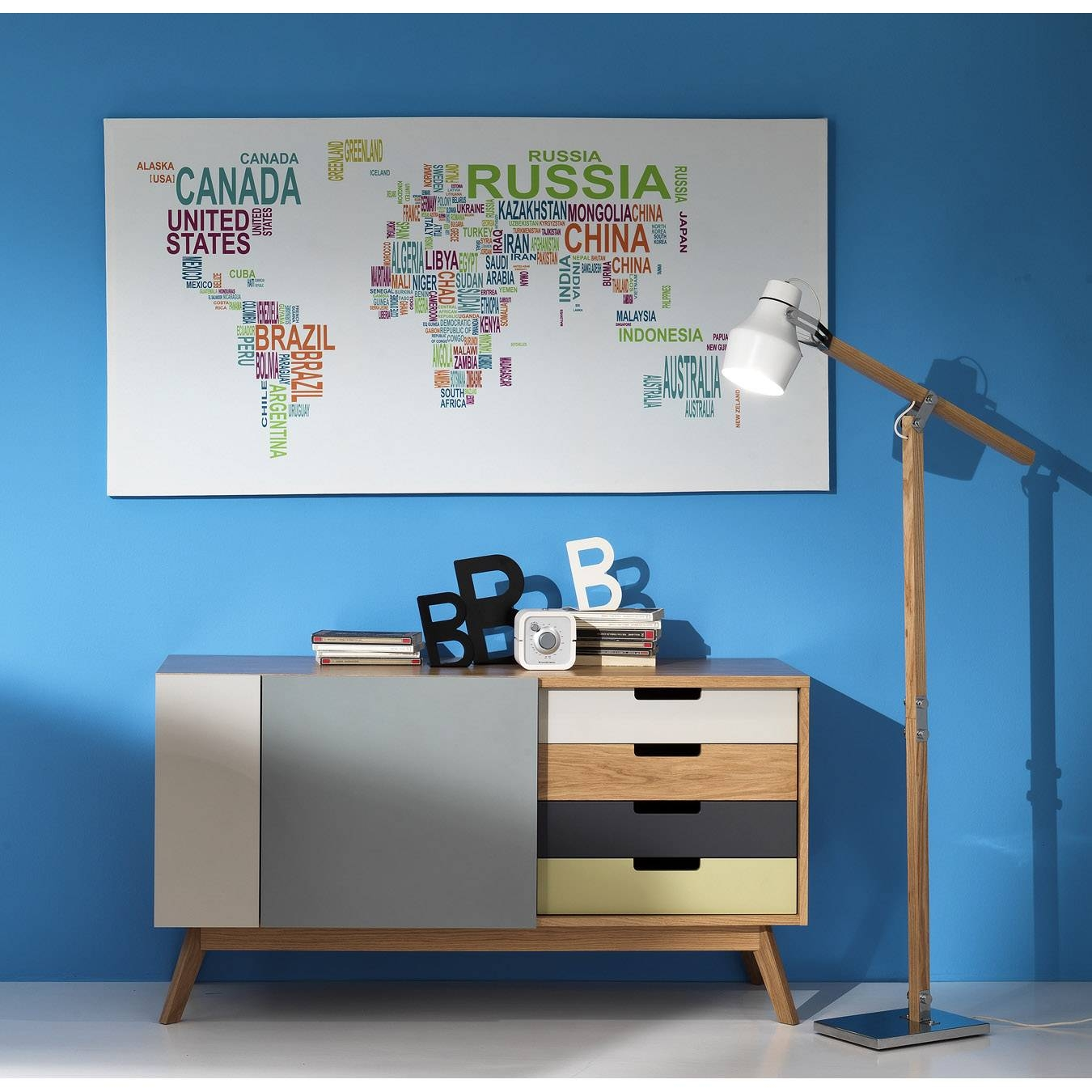 Kyra Tv Stand/sideboard, L 149 – W 40 – H 80 Cm At My Italian Pertaining To Sideboard Tv Stand (#12 of 20)