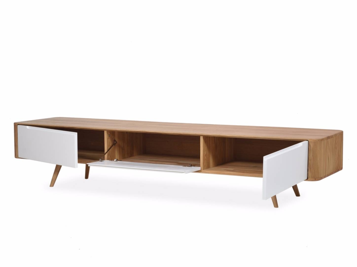 Lacquered Sideboard With Doors Ena Tv Sideboard Ena Collection With Sideboard Tv (#11 of 20)