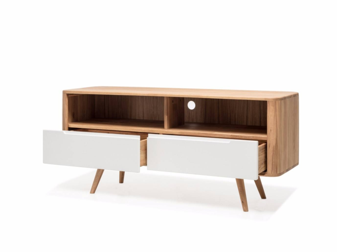 Lacquered Sideboard With Doors Ena Tv Sideboard Three Ena Pertaining To Sideboard Tv (#12 of 20)