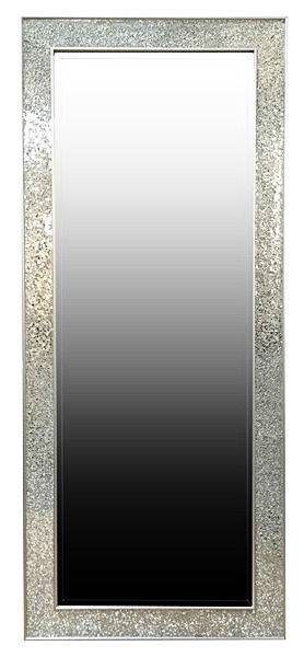 """Large 6"""" Long Mirror – Brand New! – Silver & Glass Frame Full In Long Dressing Mirrors (#17 of 30)"""