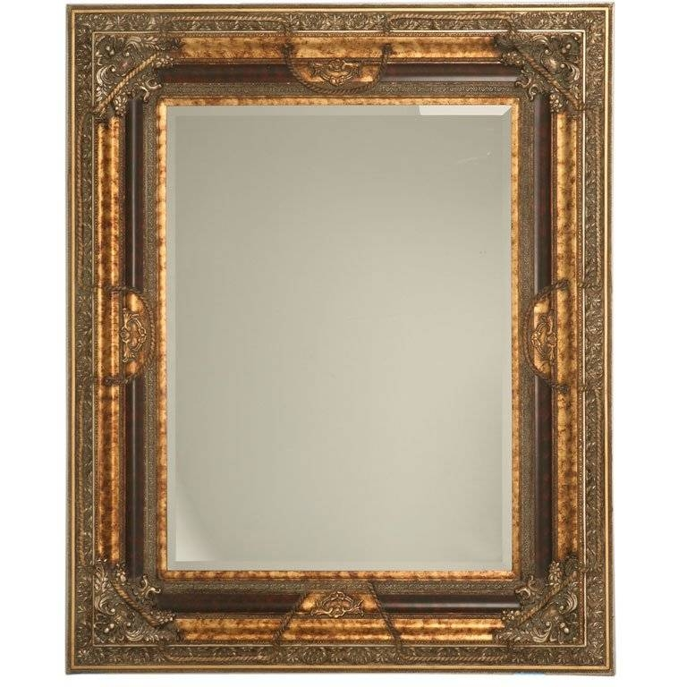 "Large 69"" X 56"" Italian Baroque Style Wall Mirror At 1Stdibs Pertaining To Baroque Style Mirrors (#14 of 20)"