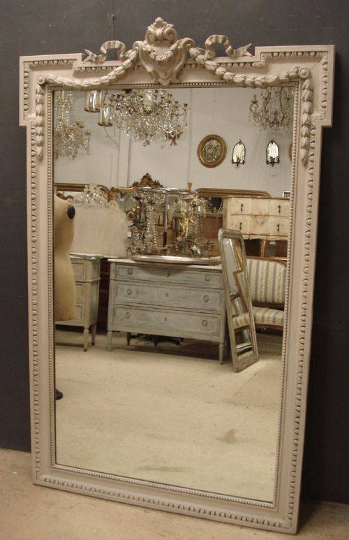 Large Antique French Mirror | 234064 | Sellingantiques.co (View 28 of 30)
