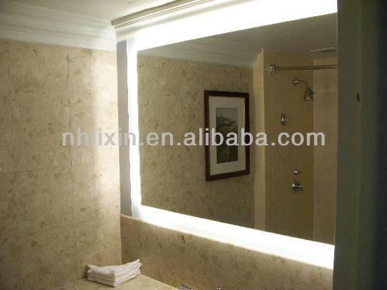 Large Bathroom Illuminated Mirrors : Brightpulse Within Large Illuminated Mirrors (#17 of 30)