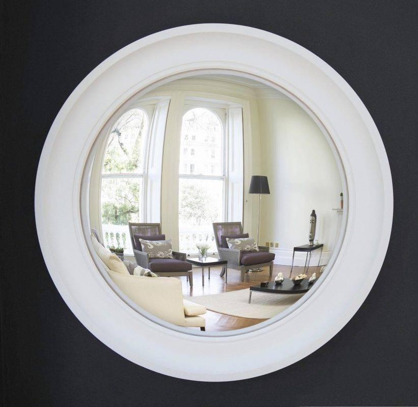 Large Cavetto Convex Mirror | Classic Design | Omelo Mirrors Omelo In Large Convex Mirrors (View 10 of 20)
