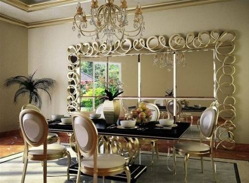 Large Decorative Mirrors | Decorating Ideas In Large Ornate Wall Mirrors (#19 of 30)