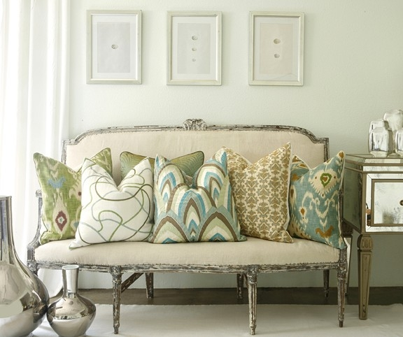 Large Decorative Pillows Decorating Ideas Inside Oversized Sofa Pillows (#8 of 15)