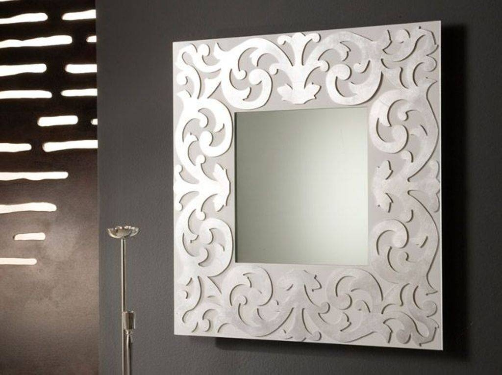 Large Decorative Wall Mirrors Ikea : How To Hang Large Decorative For Large Ornate Wall Mirrors (#21 of 30)