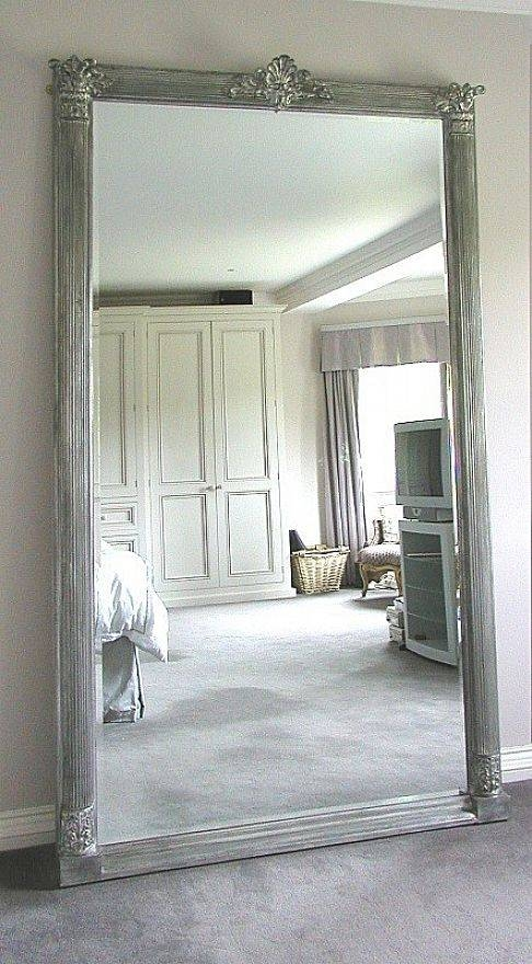 Large Floor Ceiling Mirrors And Large Floor Standing Mirrors Regarding Large Stand Alone Mirrors (#22 of 30)