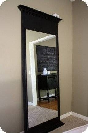 Large Floor Length Mirror – Foter With Regard To Large Floor Length Mirrors (#13 of 20)