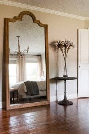 Large Floor Length Mirror – Foter Within Large Floor Mirrors (#15 of 20)