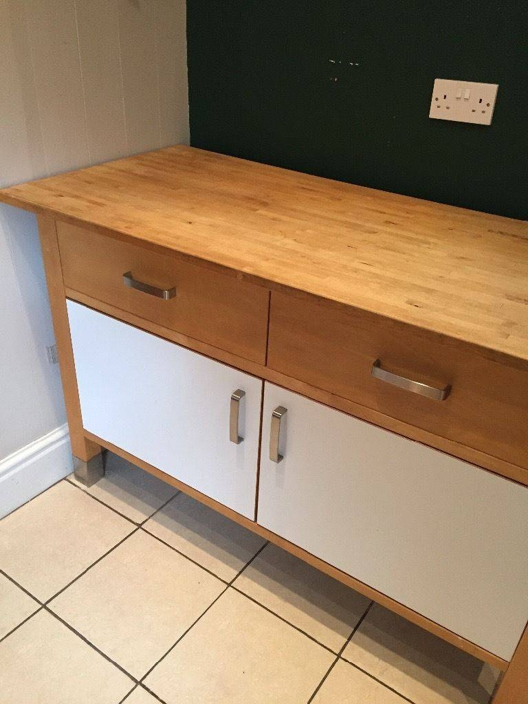 Large, Free Standing Kitchen Sideboard | In Stretford, Manchester Within Free Standing Kitchen Sideboard (View 17 of 20)