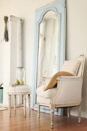 Large Free Standing Mirror – Foter For Shabby Chic Floor Mirrors (#8 of 20)