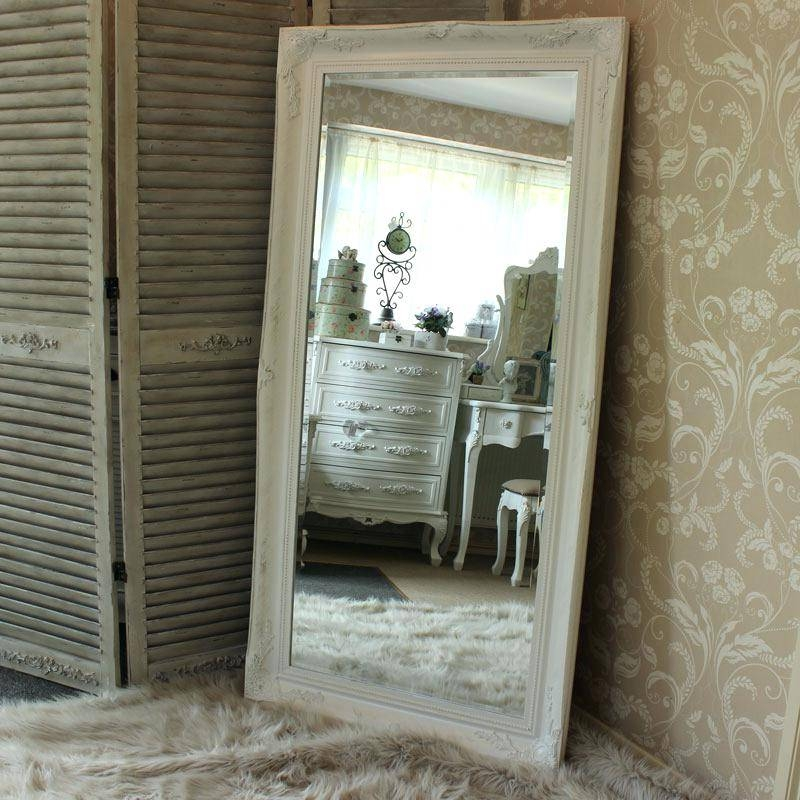 Large Free Standing Mirror Full Lengthlarge With Lights Floor Pertaining To Extra Large Free Standing Mirrors (View 9 of 20)