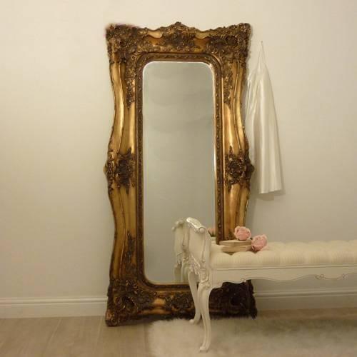 Large & Full Length French Mirrors | Beau Decor Within Full Length French Mirrors (#15 of 20)