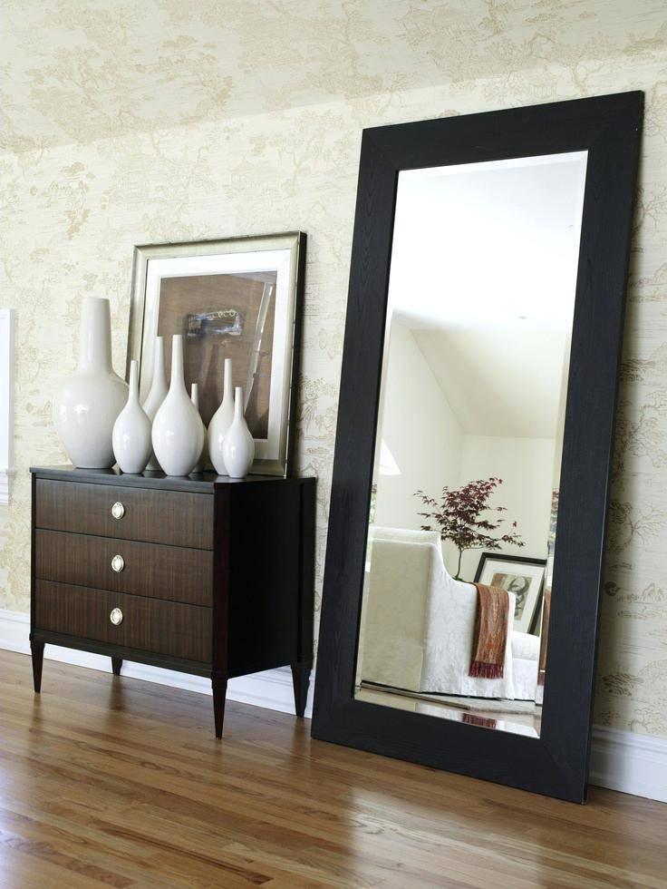 Large Full Length Mirror – Shopwiz Intended For Full Length Large Mirrors (#14 of 20)