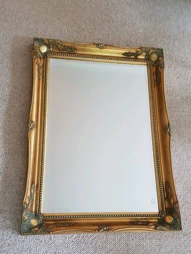 Large Gilt Framed Mirror | In Hitchin, Hertfordshire | Gumtree For Large Gilt Framed Mirrors (#21 of 30)
