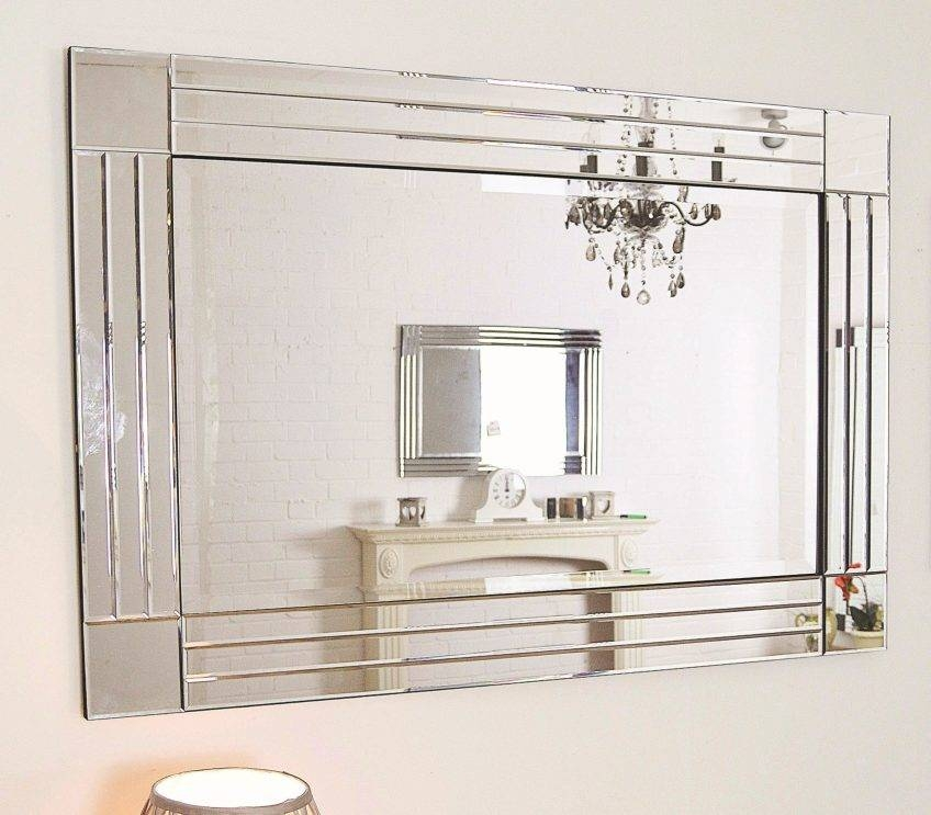 Large Glass Bevelled Wall Mirror 127 Nice Decorating With Zoom Intended For Large Glass Bevelled Wall Mirrors (#10 of 20)