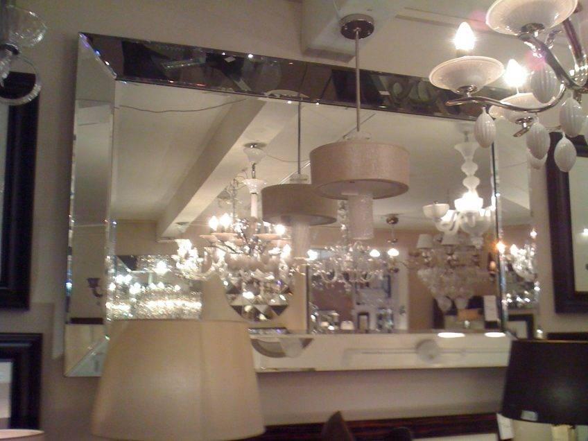 Large Glass Bevelled Wall Mirror – Harpsounds (#13 of 20)