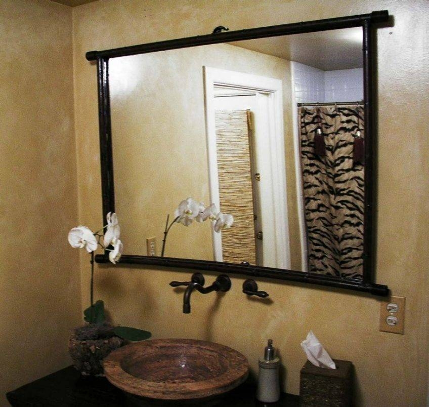 Large Glass Bevelled Wall Mirror – Harpsounds (#15 of 20)