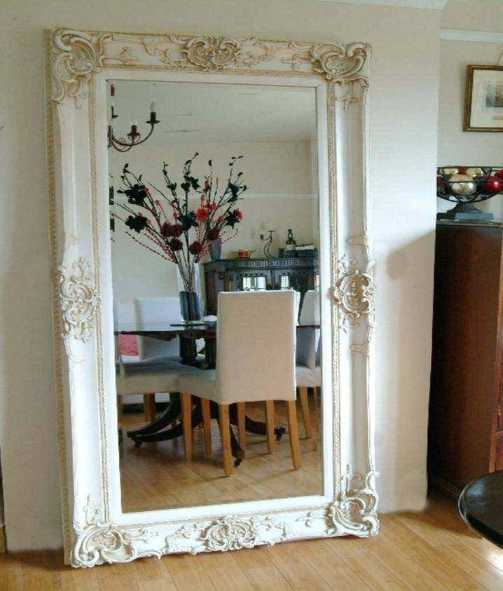 Large Gold Mirror Big Ornate Antique Designed Frame 6Ft10 X 4Ft10 With Big Ornate Mirrors (#23 of 30)