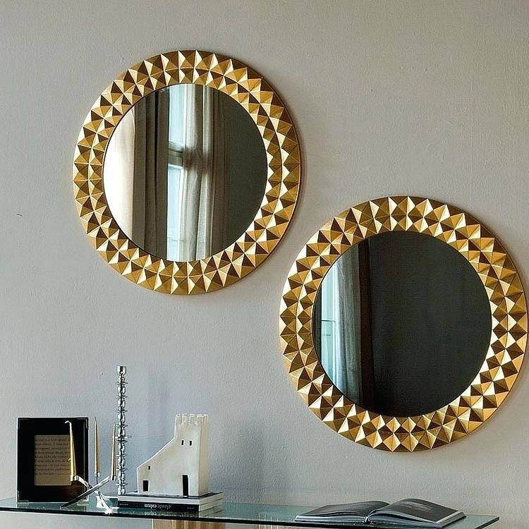 Large Gold Rimmed Mirrorgold Framed Mirror Small Mirrors Uk In Small Gold Mirrors (View 14 of 20)